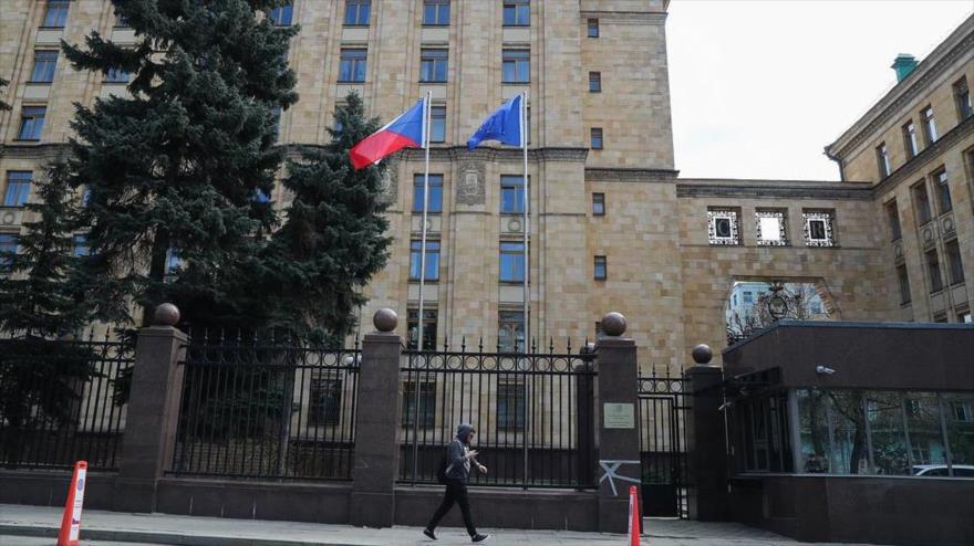 Embajada de la República Checa en Moscú, capital rusa.