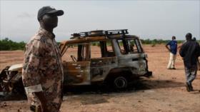 Ataque de hombres armados en Níger se salda con 19 muertos