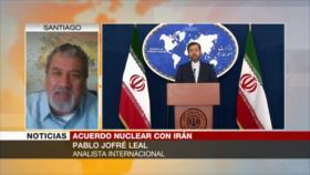 Jofré Leal: Irán ha logrado desarrollarse pese a sanciones de EEUU