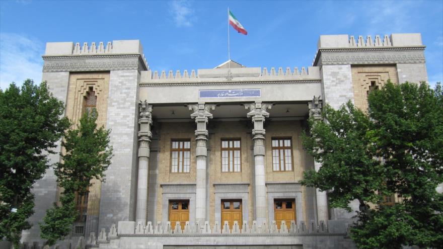 El edificio del Ministerio de Asuntos Exteriores de Irán en Teherán, capital.