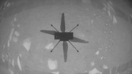 La NASA vuela con éxito su minihelicóptero Ingenuity en Marte
