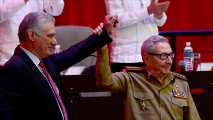 Partido Comunista de Cuba elige a Díaz-Canel como su nuevo líder