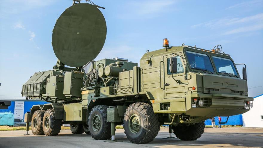 El sistema de guerra electrónica Krassuja-4.