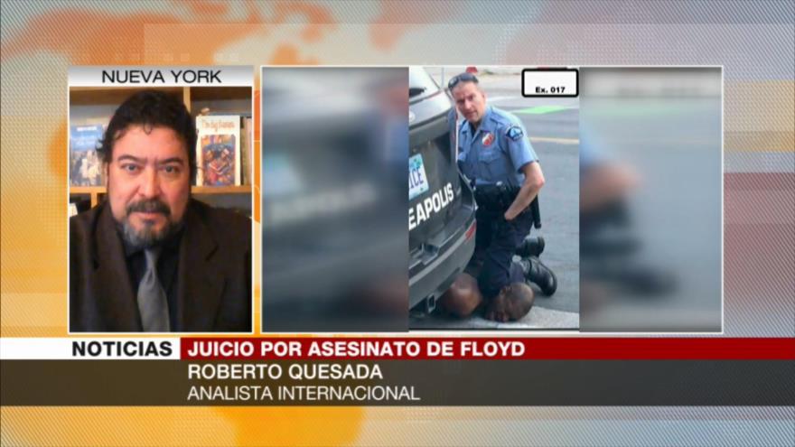 """Quesada: Asesinato de George Floyd fue """"racista"""" y """"premeditado"""""""