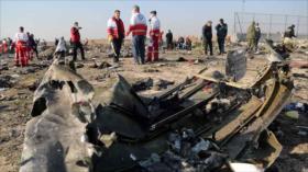 Irán: Ucrania intenta politizar el accidente de avión de pasajeros