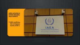 PoliMedios: Irán acelera a ritmo récord, AIEA admite