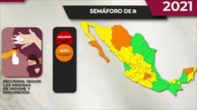 Doble realidad en México: Avanza vacunación y repunte de casos