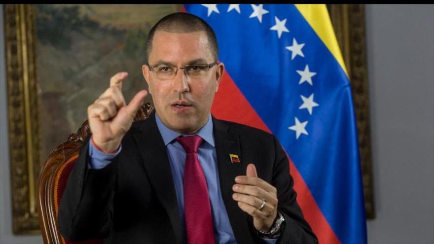 El canciller de Venezuela, Jorge Arreaza. (Foto:AFP)