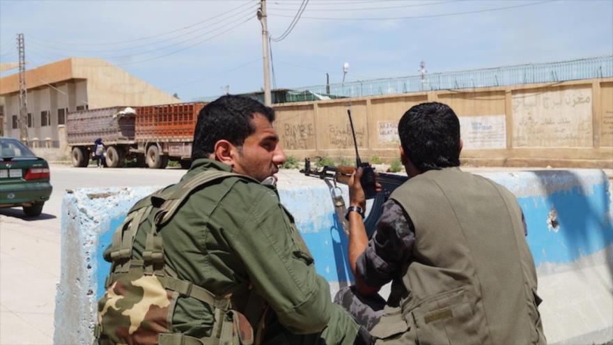 Informan de choques violentos entre aliados del Ejército sirio y de EEUU
