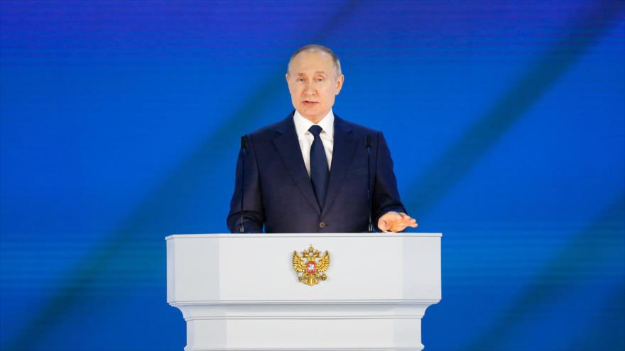Putin: Occidente 'lo lamentará' si cruza 'la línea roja' con Rusia