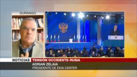 Zelaia: Occidente creará conflictos y Rusia intentará evitarlos