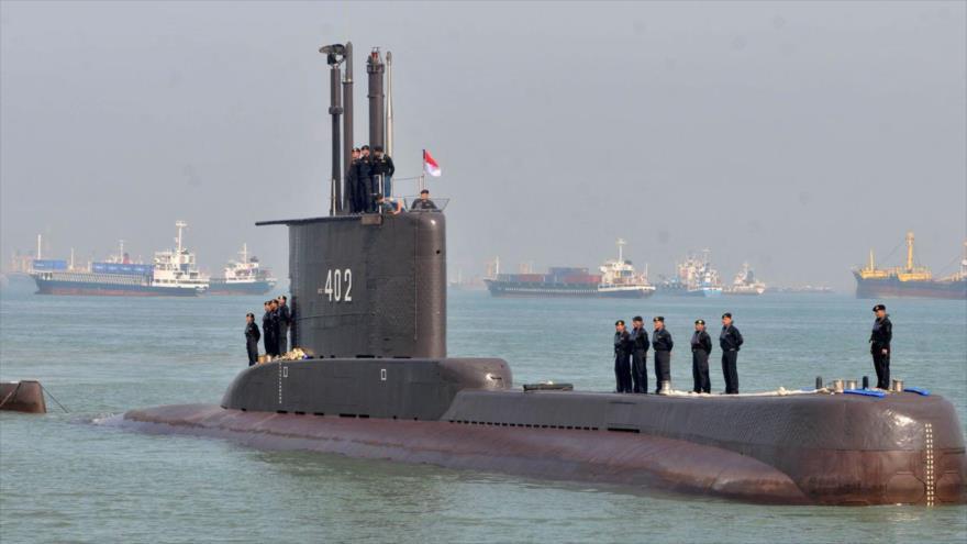 El submarino indonesio KRI Nanggala-402.