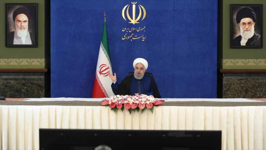 Presidente Rohani dice que sanciones no pueden frenar avances de Irán