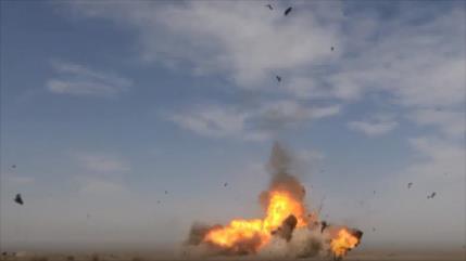 Vídeo: Vean cómo dron suicida de Irán hace añicos sus objetivos