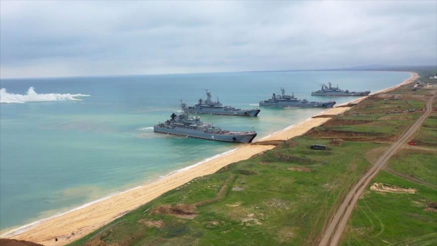 ¿Mensaje a OTAN? Rusia lanza maniobra a gran escala en Crimea