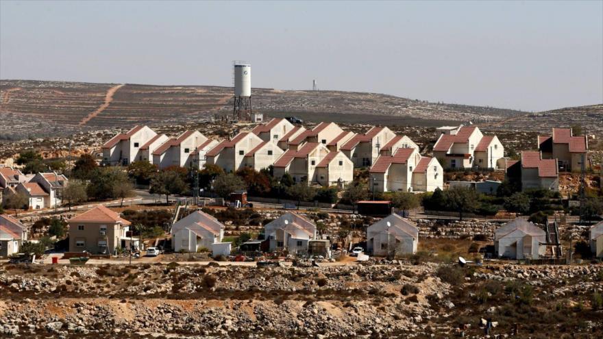 Vista general de unidades de un asentamiento ilegal israelí en la Cisjordania ocupada. (Foto: Reuters)