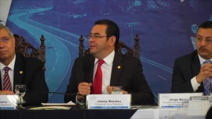 Expresidente guatemalteco Jimmy Morales podría enfrentar la justicia