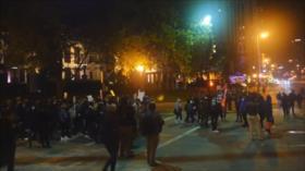 No baja el tono de la protesta contra la violencia racial en EEUU