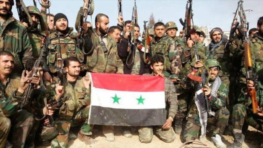 Las Fuerzas de Defensa Nacional (FDN) de Siria, aliadas del Ejército sirio.