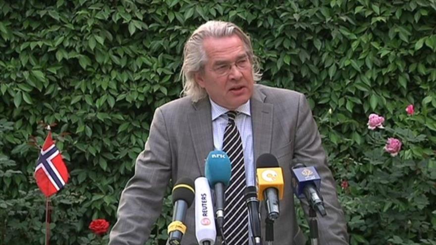 El enviado de la ONU para Oriente Medio, Tor Wennesland.