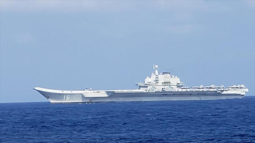 Vídeo: Un caza aterriza en un portaviones de China cerca de Taiwán