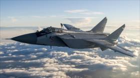 Caza ruso intercepta a un avión espía de EEUU en océano Pacifico
