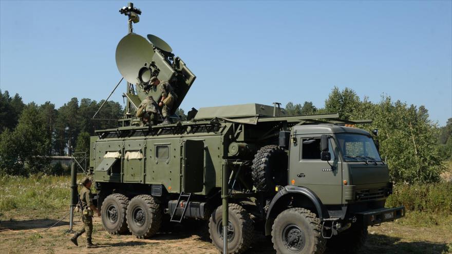 El sistema de guerra electrónica ruso Krasuja.