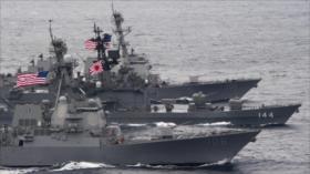 Japón, Francia y EEUU realizarán maniobras en desafío a China