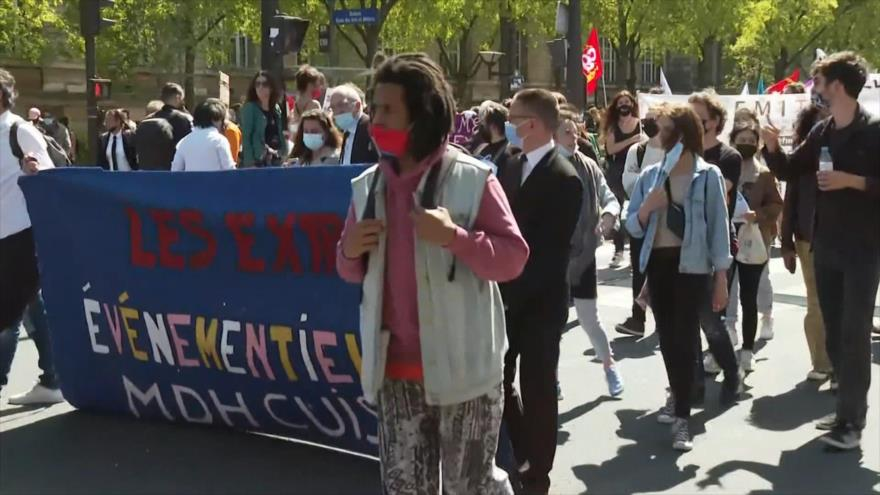 Protestan en Francia por reforma del sistema de seguro de desempleo