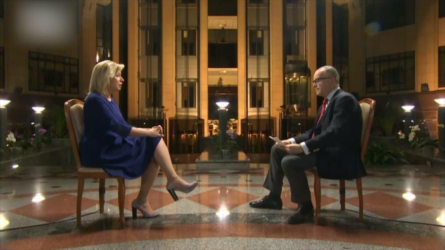 Zajarova: Campaña de rusofobia, detrás de tensiones con Occidente | HISPANTV