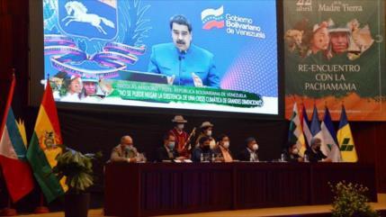 "Maduro destaca rol ""fundamental"" de Bolivia contra el capitalismo"