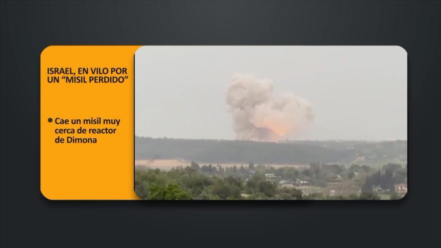 """PoliMedios: Israel, en vilo por un """"misil perdido"""""""