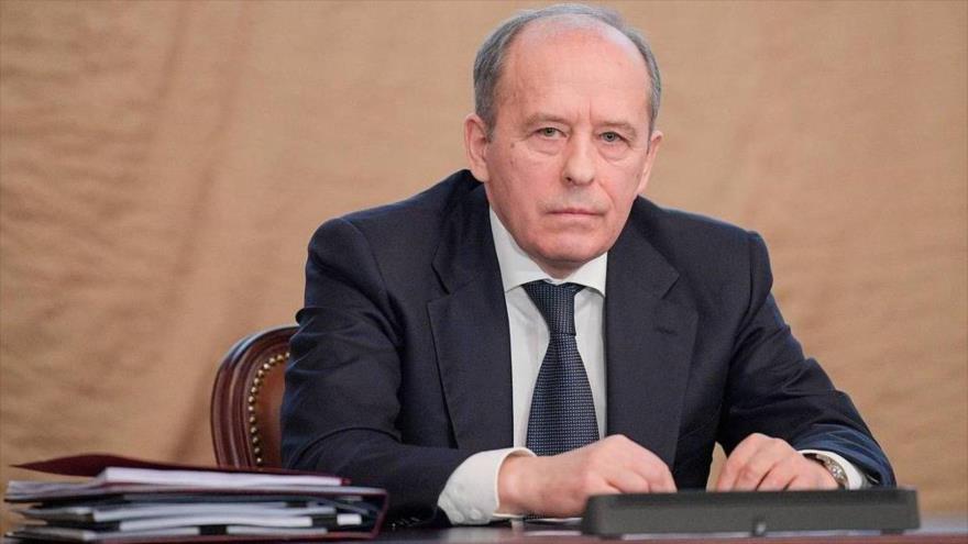 El director del Servicio Federal de Seguridad ruso (FSB, por sus siglas en ruso), Alexander Bortnikov.