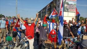 Caravana mundial exige a EEUU poner fin al bloqueo a Cuba