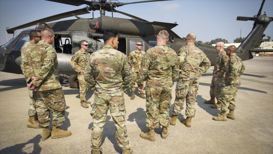 Tropas estadounidenses desplegadas en la base aérea de Incirlik en Turquía, 26 de agosto de 2020. (Foto: Fuerza Aérea de EE.UU.)
