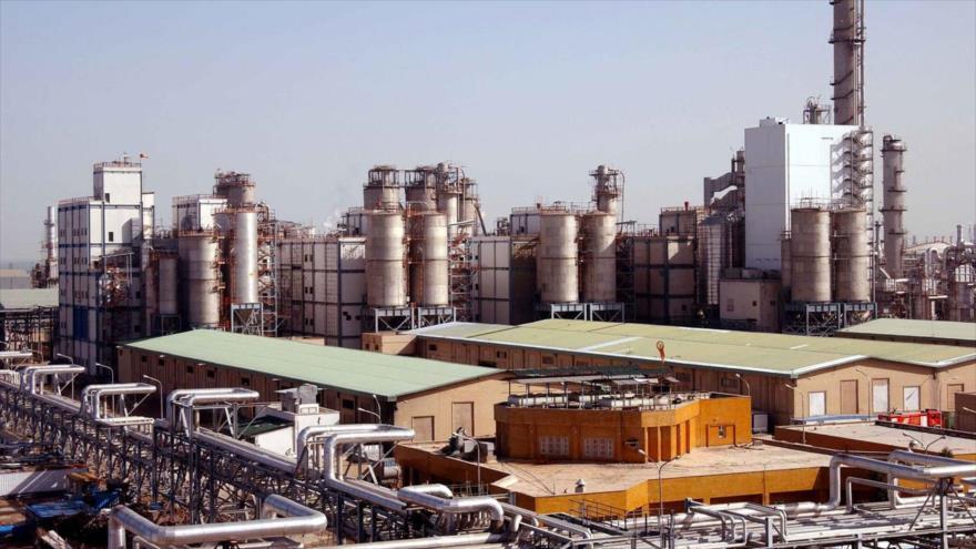 El complejopetroquímico Bu Ali Sina, ubicado en Juzestán, suroeste de Irán.