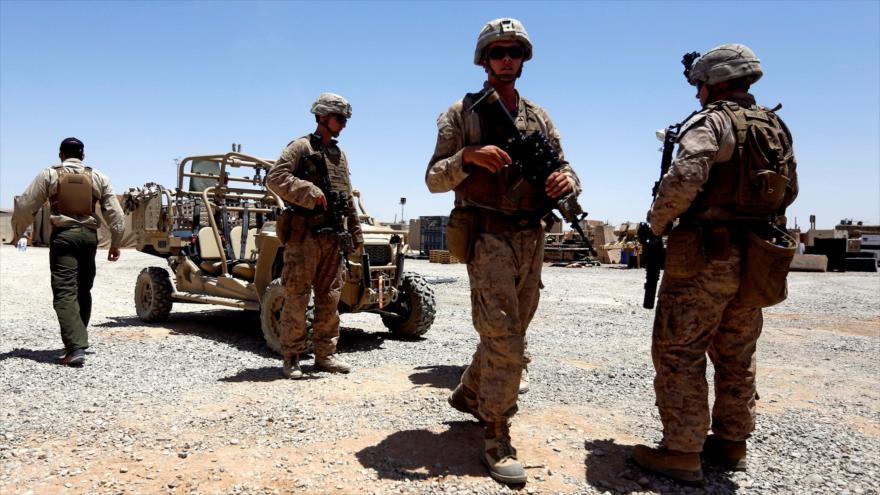 Soldados estadounidenses patrullan en la provincia de Helmand, Afganistán, 6 de julio de 2017. (Foto: Reuters)