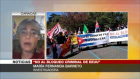 'Protestas contra bloqueo a Cuba rechazan supremacismo de EEUU'