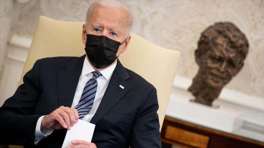 Biden, entre tres presidentes más impopulares de historia de EEUU | HISPANTV