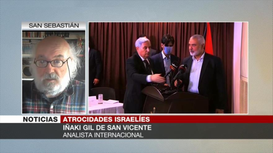 Iñaki Gil: Israel comete genocidio para arrodillar a palestinos | HISPANTV