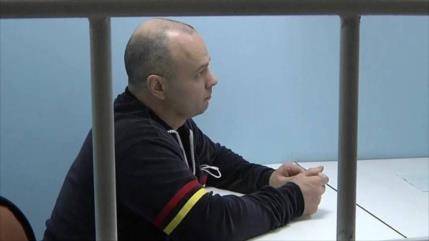 Rusia condena a 10 años de cárcel a un espía ucraniano