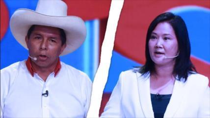 Balotaje en Perú: Sondeos dan aplastante victoria a Pedro Castillo