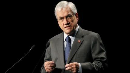 Piñera registra desaprobación récord: Solo 9 % acepta su gestión