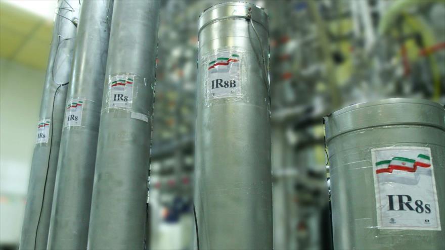 Centrifugadoras IR-8 en la planta nuclear de Natanz, en el centro de Irán, 3 de noviembre de 2019. (Foto: AFP)