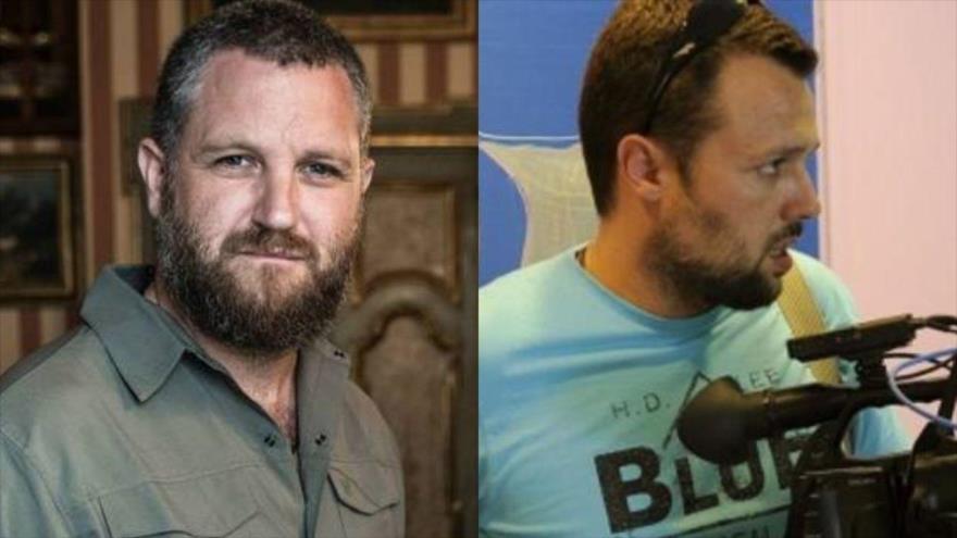 Los periodistas españoles asesinados por terroristas en Burkina Faso: David Beriain (izq.) y Roberto Fraile.