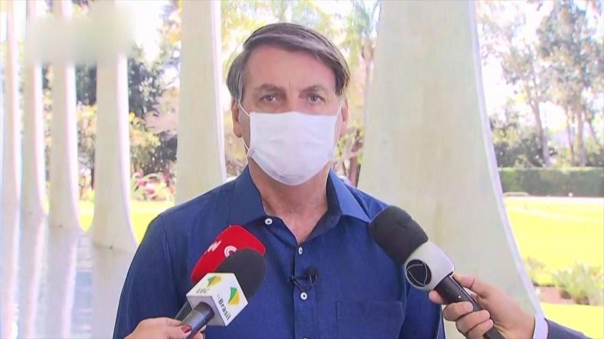 Bolsonaro, bajo guillotina: Senado investiga gestión de la COVID-19