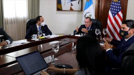 Se materializan los primeros acercamientos entre EEUU y Guatemala