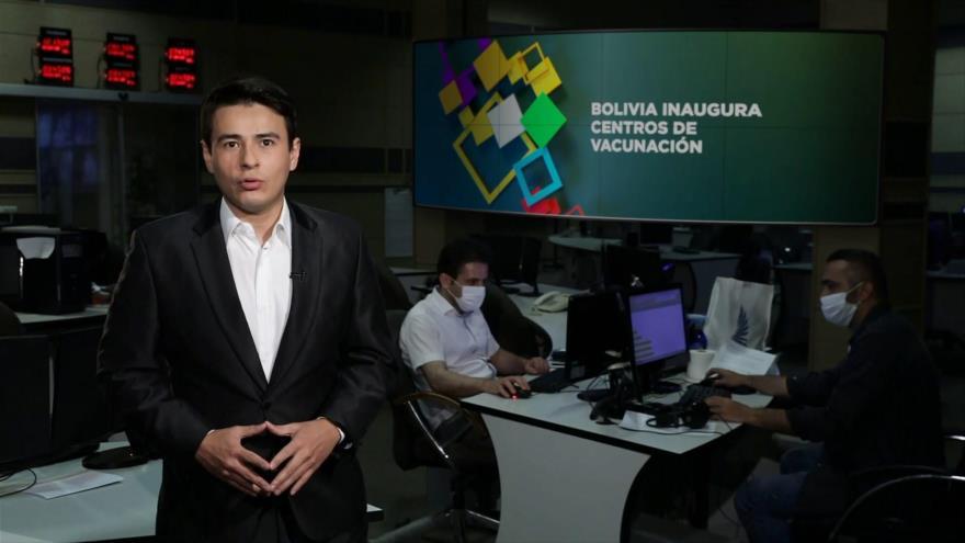 Buen día América Latina: Bolivia inaugura centros de vacunación