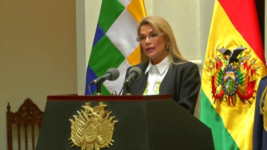 Formalizan en Bolivia denuncia contra Jeanine Áñez por sedición