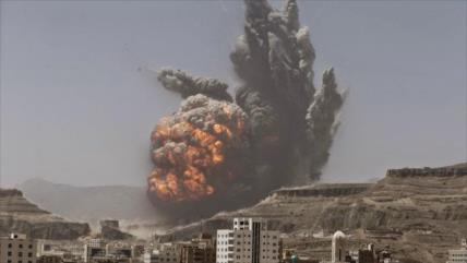 Mueren dos niños yemeníes por la explosión de una bomba saudí